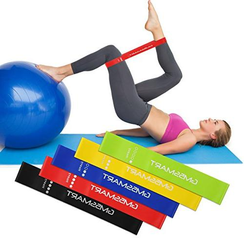 GM5SMART Resistance Bands,Exercise Loops or Workout 5