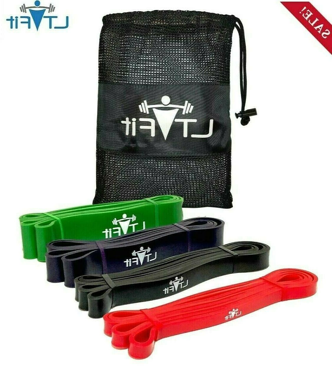 Resistance Muscle Bands Set Bench Press Power Fitness