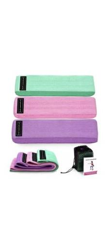 RESISTANCE STRETCH BANDS FOR WORKOUT-Men and Women- Pastel c