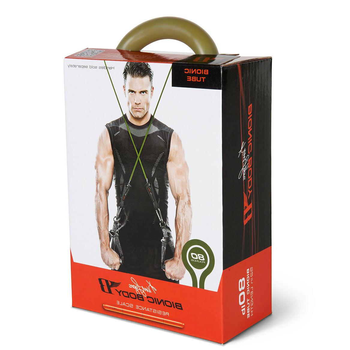 Bionic Body 80 LB Weight Tube BBRT-0080 Portable Fitness