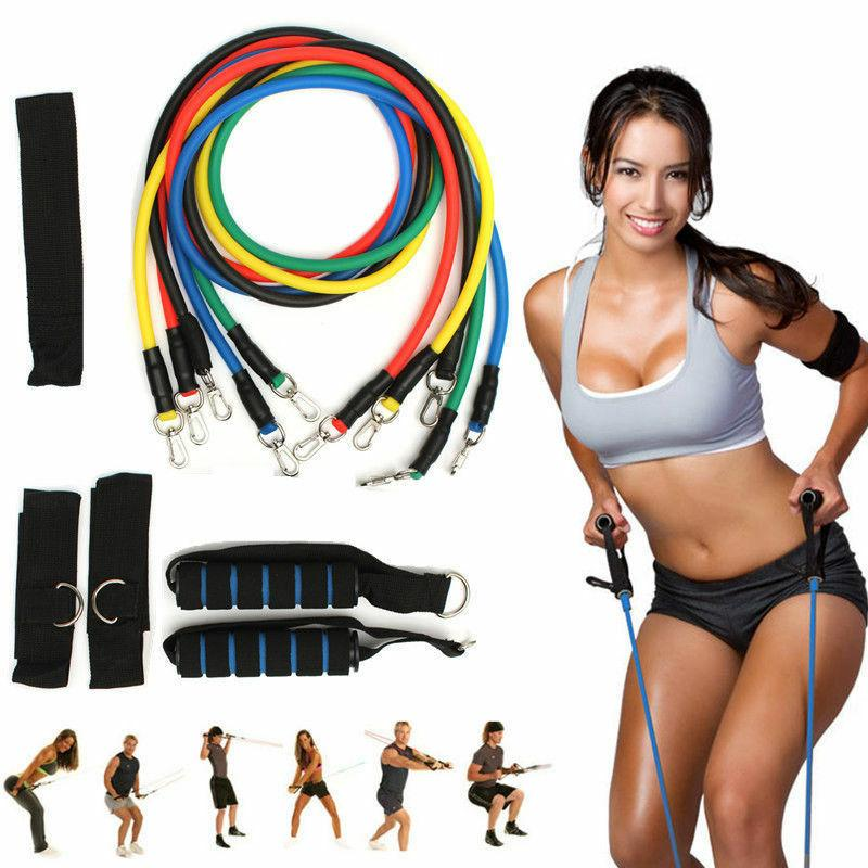 Resistance Bands Exercise Fitness Stretch Loop