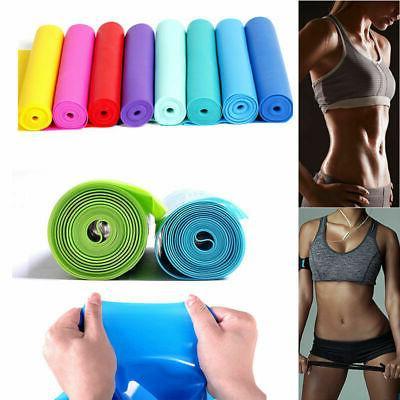 rubber elastic yoga pilates resistance bands straps