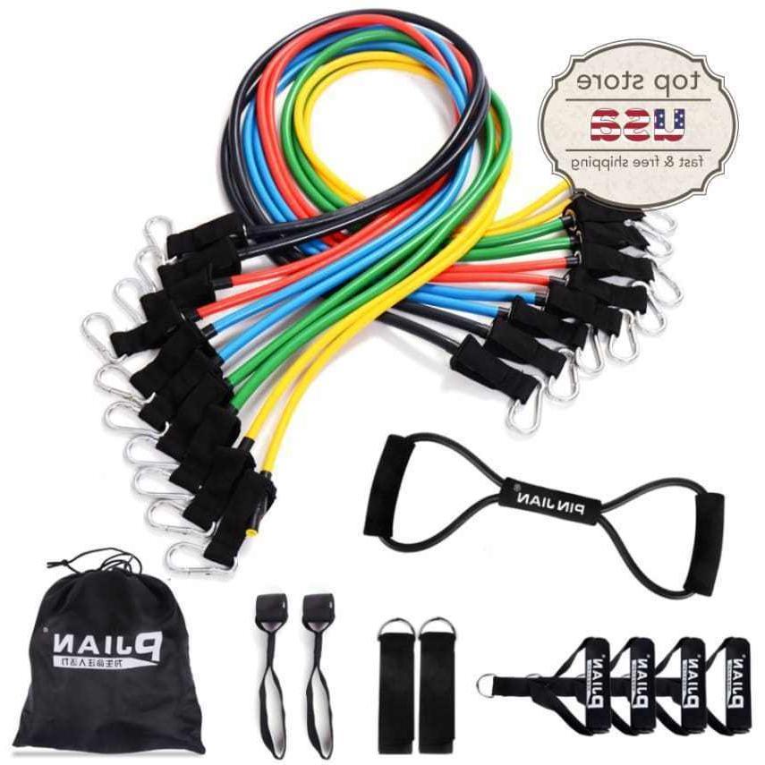 rubber resistance band set