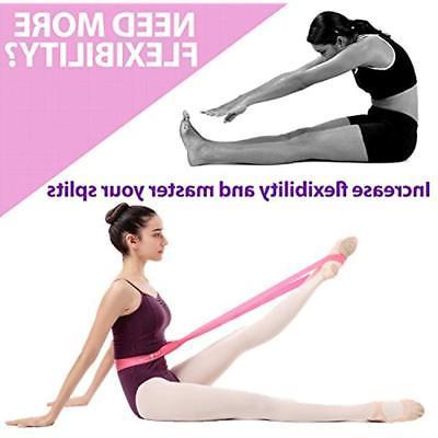 Set Ballet 2 Stretch Bands Exercise & Adults +
