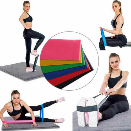 4Pcs Elastic Loop Bands Exercise Yoga