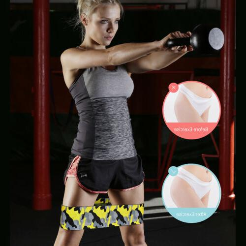 Set of Bands Exercise Workout CrossFit Fitness Band