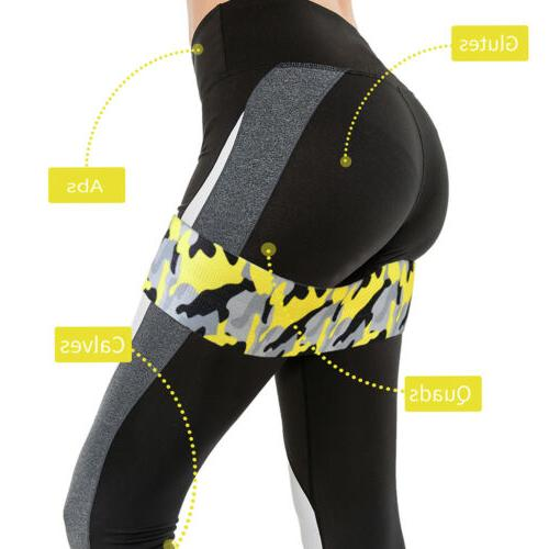 Set of 3 Bands Loop CrossFit Booty Band