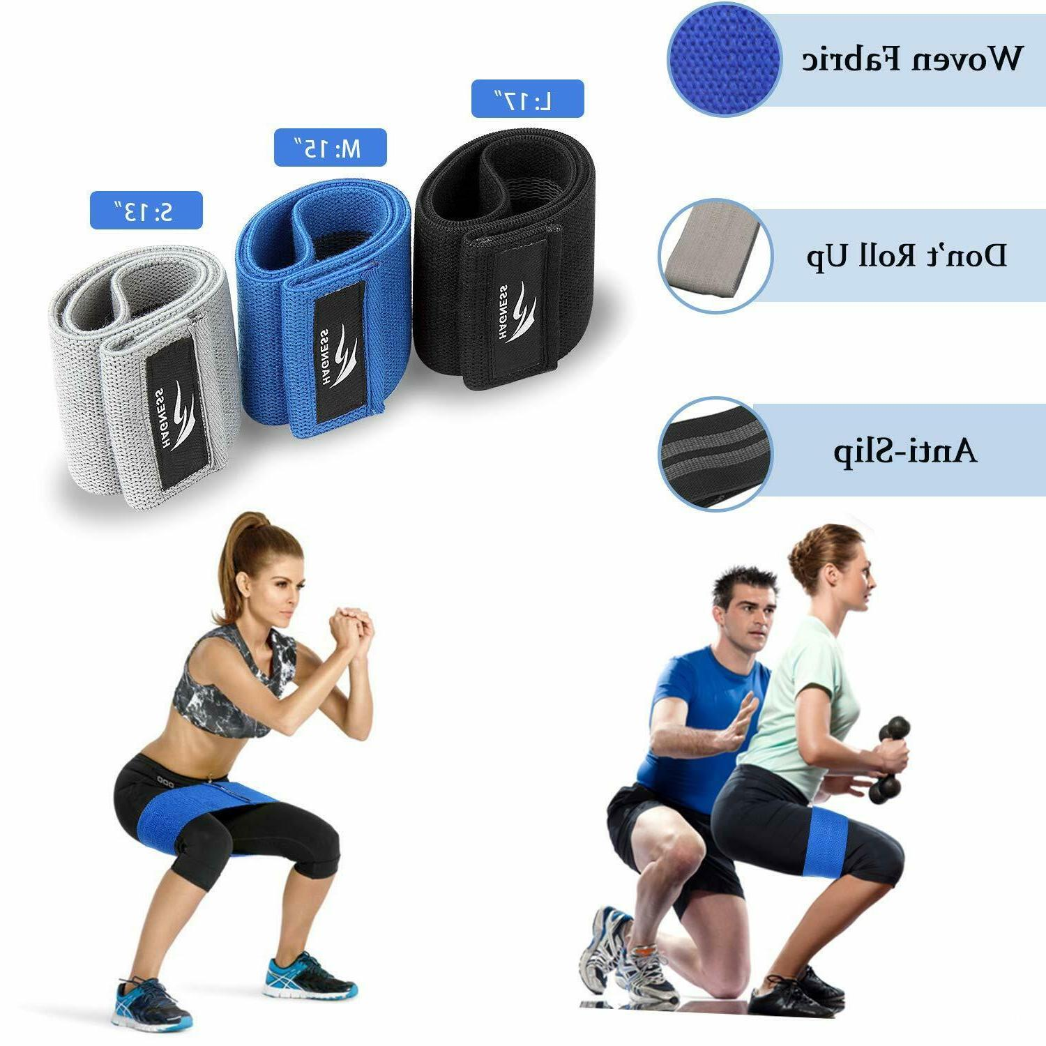 Set of 3 Bands,Loop Exercise Bands Butt