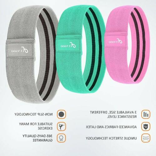 Resistance of 3 Workout Band