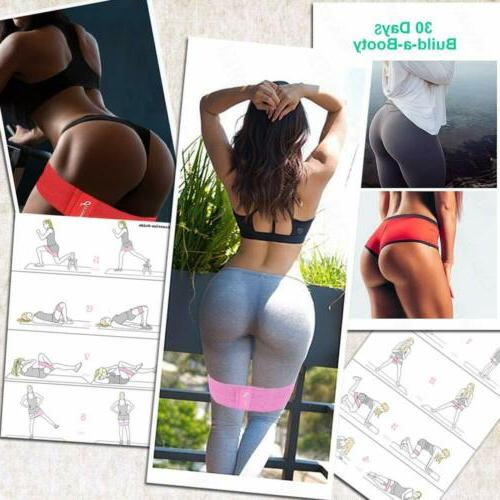 Resistance Bands of Exercise CrossFit Yoga Booty Band