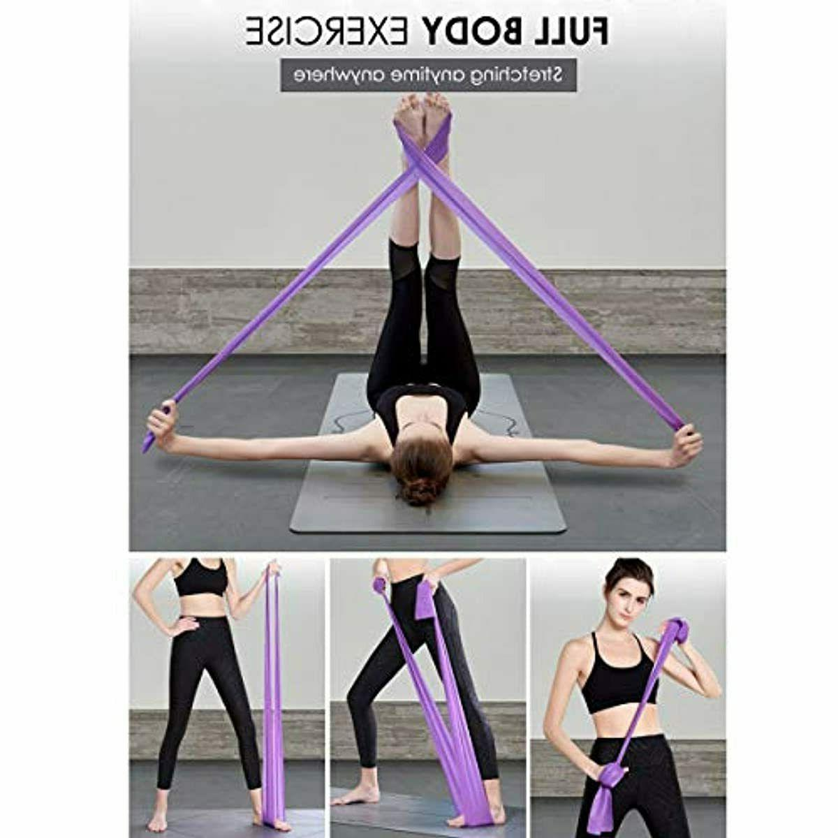 Set of 4 Stretch Loop GYM Therapy
