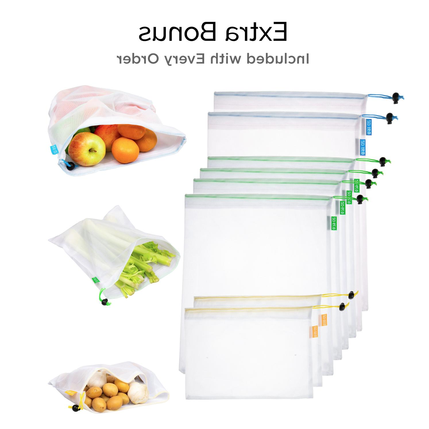 Cotton Reusable Grocery Bag *US
