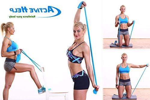 Shoulder Therapy - Home Door Pulleys System Increase of Motion, Strength & Recovery Light Resistance Band Instructions + Help