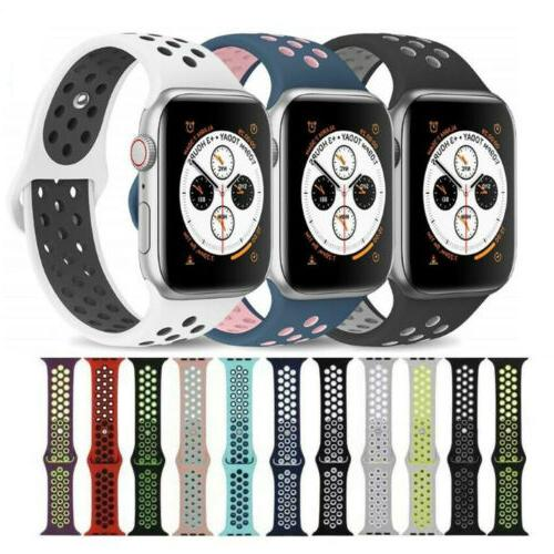 Silicone Sport Strap for Watch Series 4 2 1 38/40mm