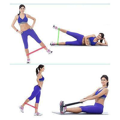 Resistance Loop 5 Exercise CrossFit Yoga Booty