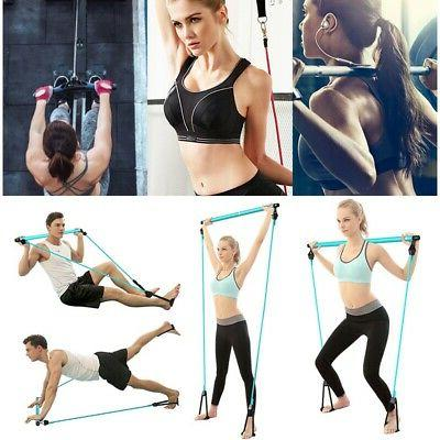 Sport Pilates Bar with Home Exercise Fitness