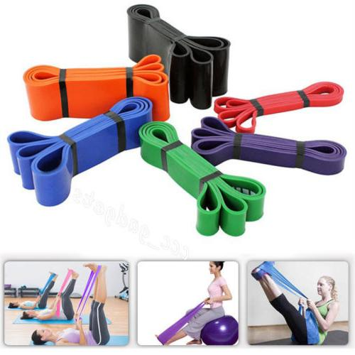 Sport Resistance Band Exercise Fitness Training Strength