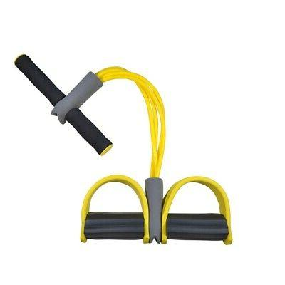 sporting fitness resistance band sit up latex