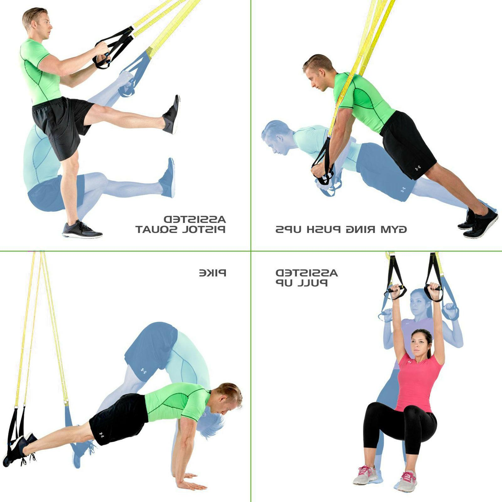 Sports Fitness Resistance Trainer for Full Body Strength,