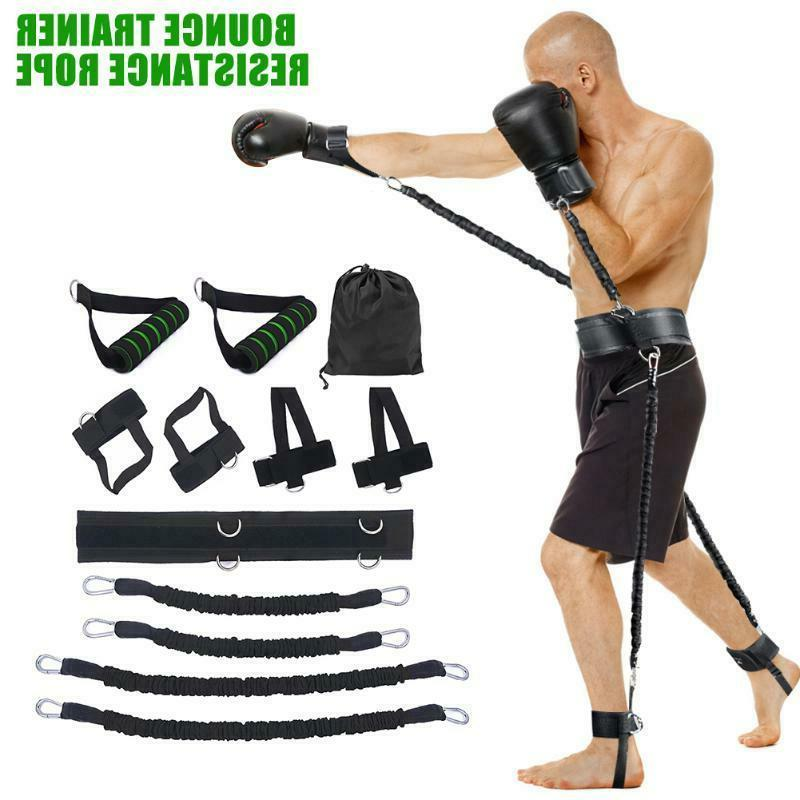 sports fitness resistance bands set boxing bouncing