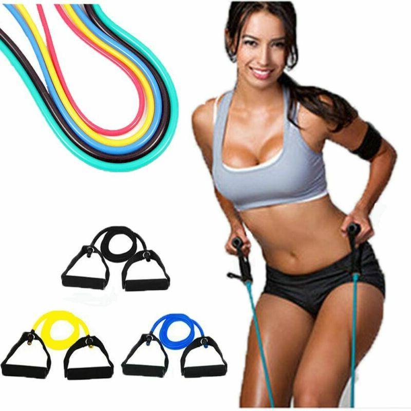 Sports Keep Fitness Rubber Strength Bands Yoga