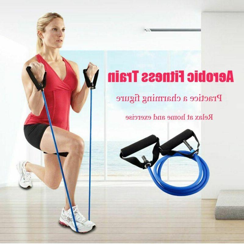 Sports Gym Pilates Fitness Resistance Bands Yoga Pull Rope