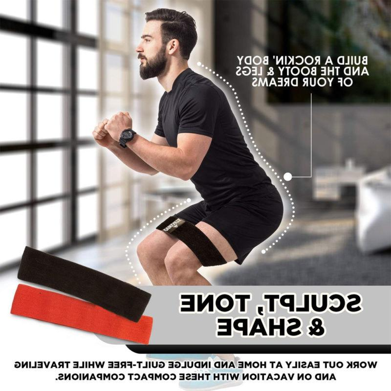 Sports Hip Resistance Booty Exercise Glute Slip Loop Fitness