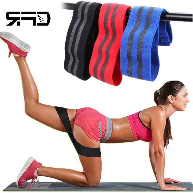 sports hip resistance band booty exercise glute