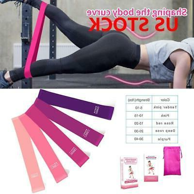 sports resistance bands fitness equipment training yoga