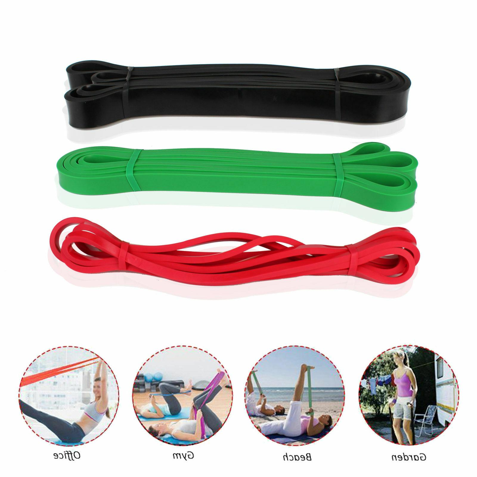 Strength Resistance Bands Fitness Power Pull Muscle