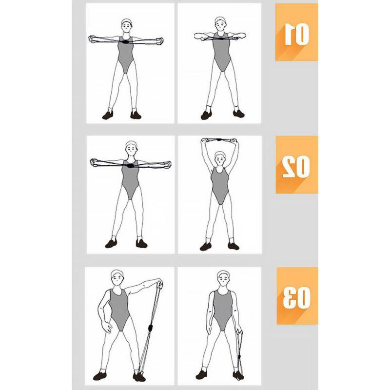 Stretch Resistance Band For Yoga