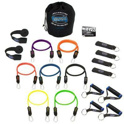 Bodylastics Strong Man System Warrior Edition Exercise Sport