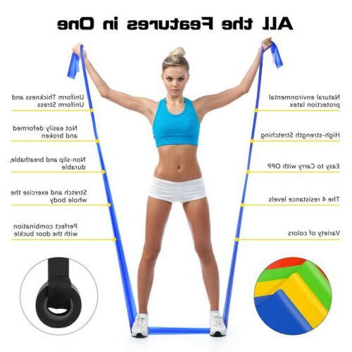 Super Resistance Band Yoga Pilates Exercise Fitness Gym