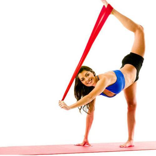 Super Band Yoga Pilates Strap Fitness Gym