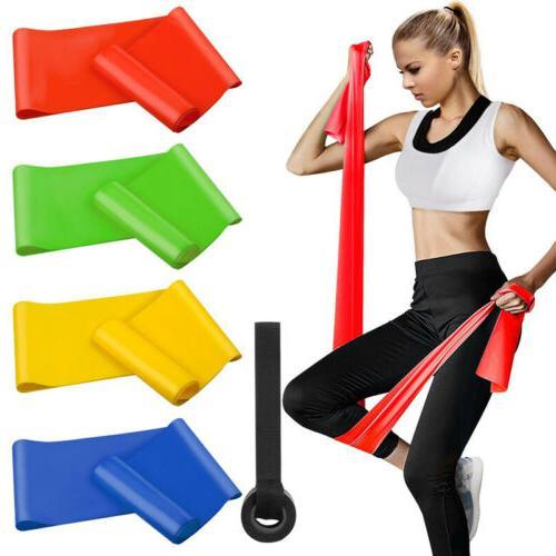 super elastic resistance band yoga pilates strap