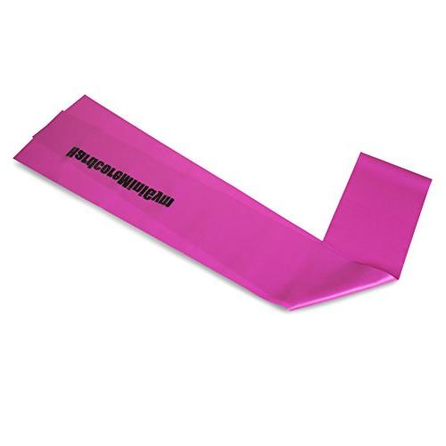 MEDIUM TENSION BANDS - Fitness Ideal for Physical Therapy, Strength Theraband, Beachbody, Mat, LATEX-FREE