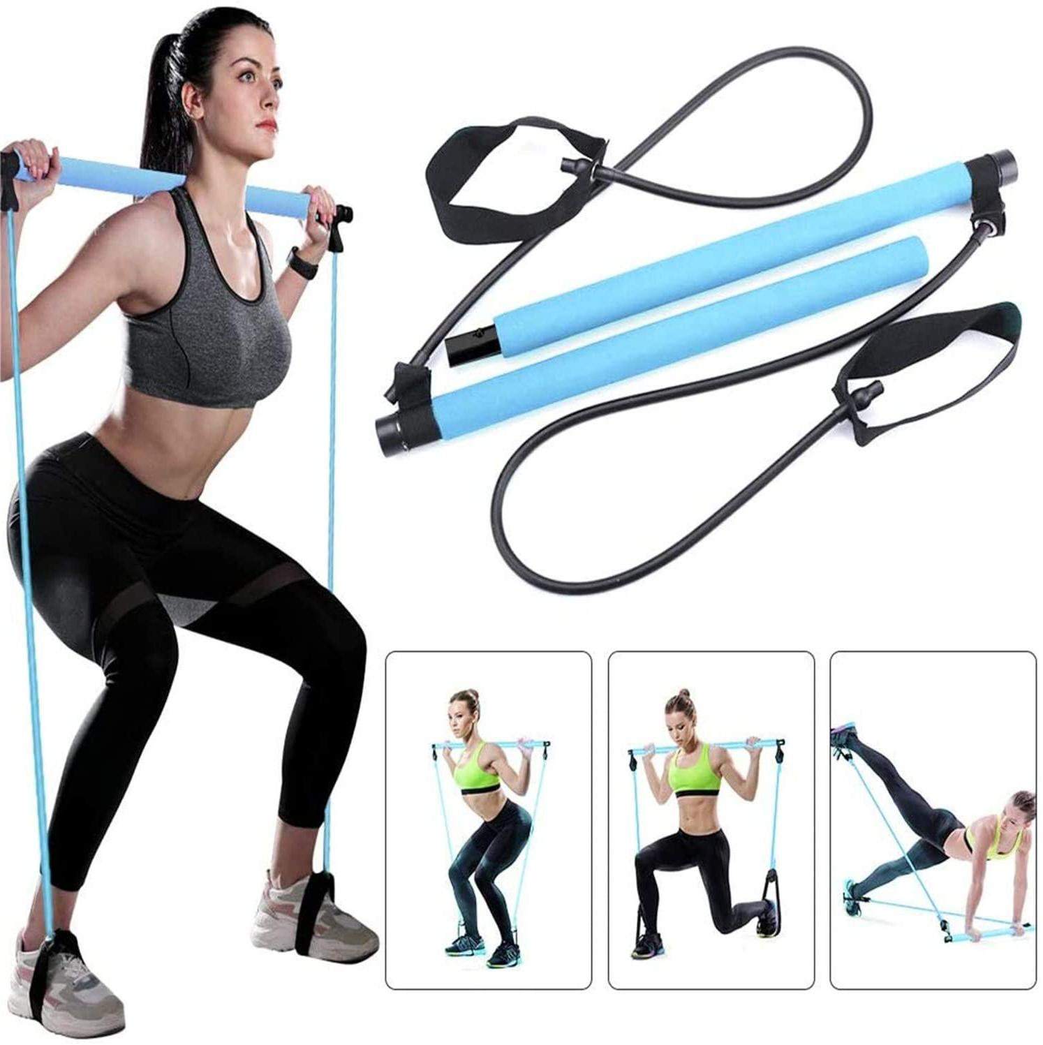the best flexbands yoga pilates bar resistance