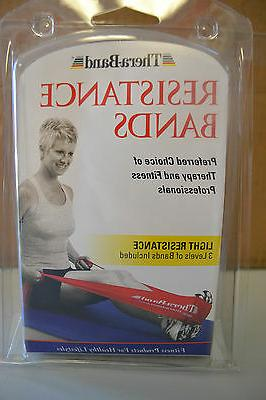 Thera-band Resistance Bands Clamshell, Light