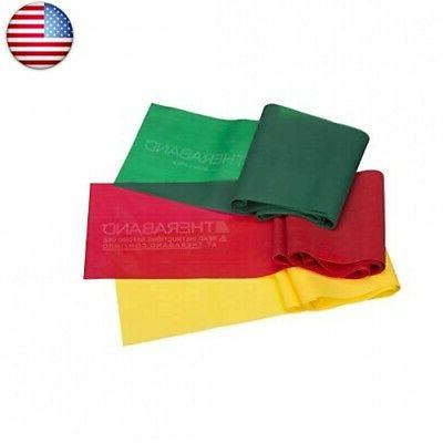 thera band resistance bands clamshell