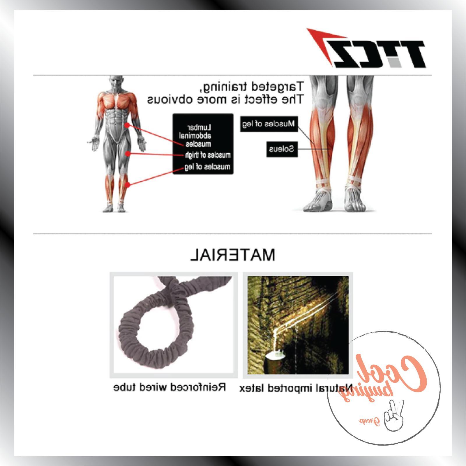 TRZ Rope Resistance Tennis Running Jump
