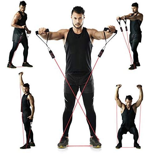 Resistance Bands Attachment, Foam Straps, Resistance Exercise Bands,Exercise Tube Bands Body Shaping, Training- 100% Time Guarantee