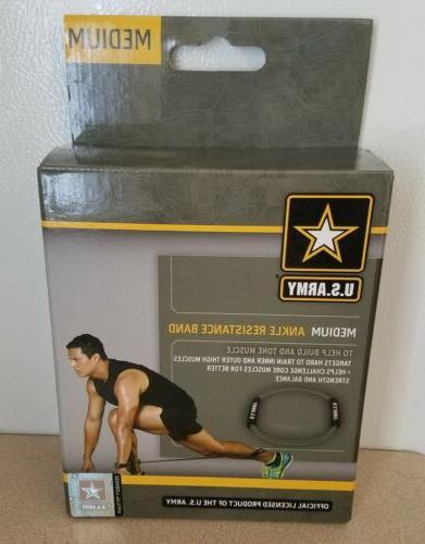 u s army medium ankle resistance band