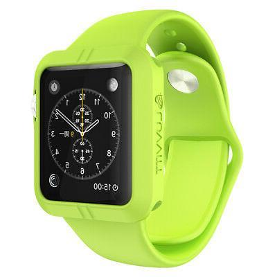 LUVVITT ULTRA ARMOR High Performance Flexible Apple Watch Ca