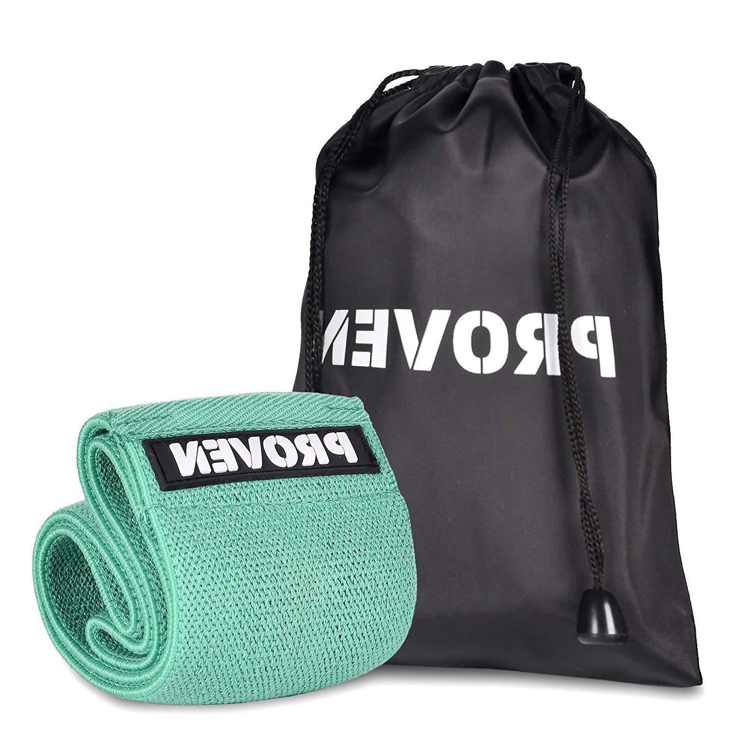 unisex exercise resistance booty hip bands turquoise