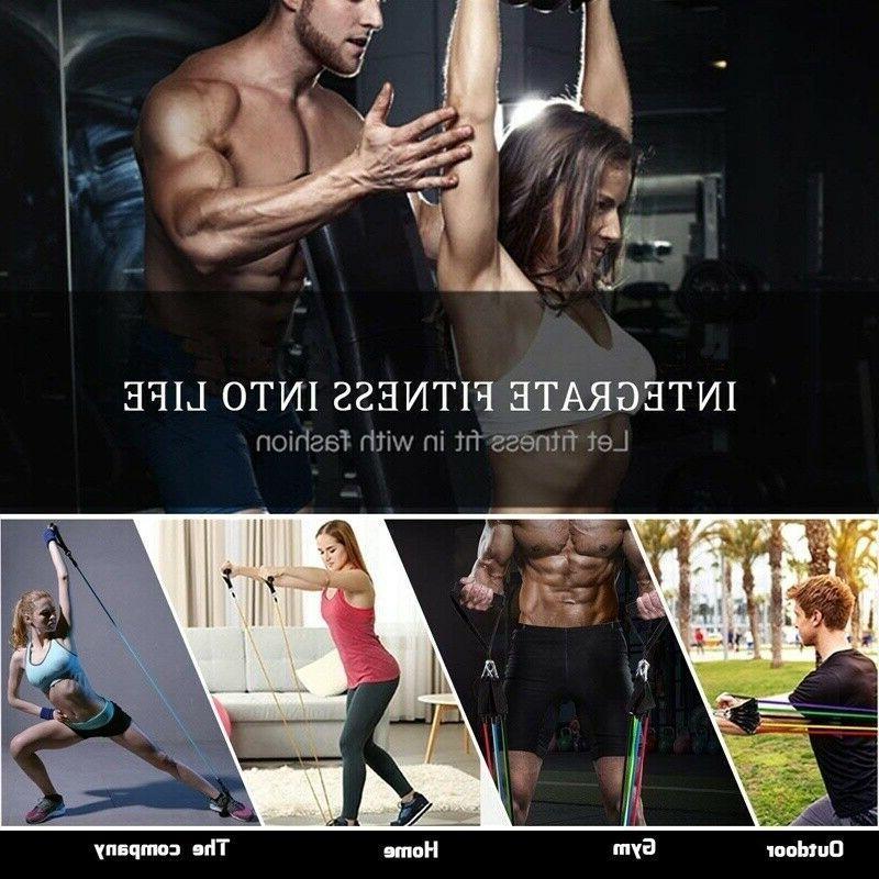 Yoga Tube Resistance Home Gym Workout