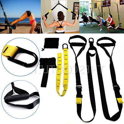 upgraded home gym suspension resistance strength training