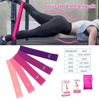 us workout resistance bands loop set fitness