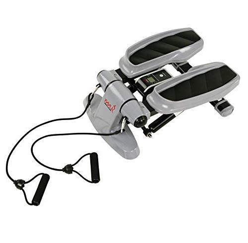 Versa Stepper w/Wide Resistance Bands LCD Monitor - SF-S0870