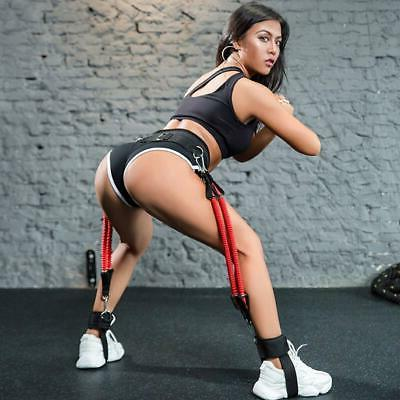 vertical jumping trainer ankle cuffs leg resistance