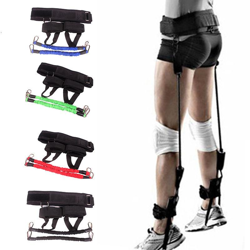 vertical jumping trainer resistance bands system horizontal
